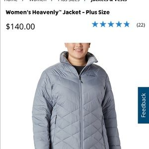Women's Heavenly Columbia Jacket